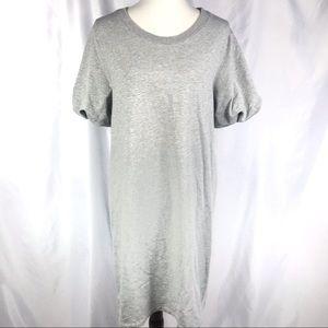Halogen Women's Sweatshirt Shift Dress Gray Dress